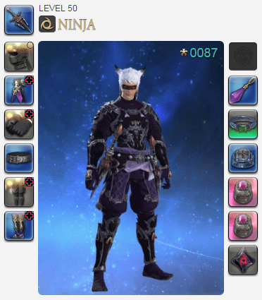ffxiv level 50 ninja benchmark sir vincent iii 2018